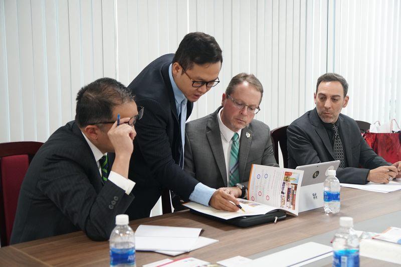 UEF làm việc cùng Đại học Keuka (Hoa Kỳ)