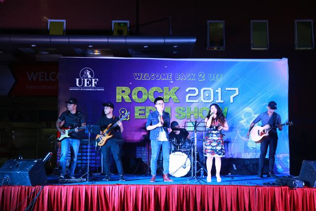 Rock and EDM show UEF 5