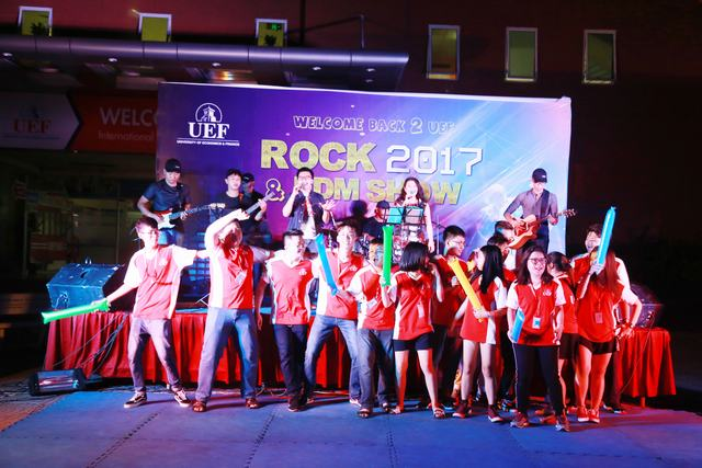 Rock and EDM show UEF 8
